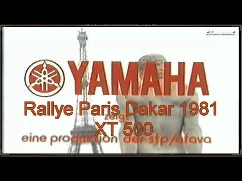 Rallye Paris Dakar 1981 - YAMAHA XT 500