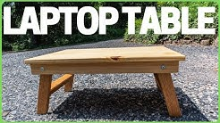 Building a Wood Laptop Table / Stand / Desk Quick DIY Project