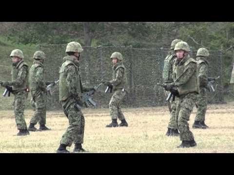 陸上自衛隊福知山駐屯地 20151004 格闘訓練