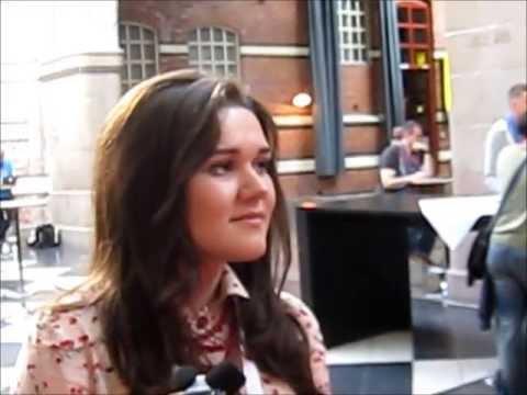 Interview with Dina Garipova @ Eurovision 2013 (Russia)