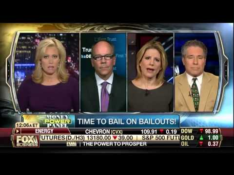 Dan Mitchell Discussing the Bailout Culture in Washington