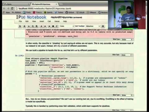 Text mining online data with scikit-learn by Robert Layton