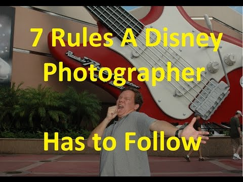 7 Rules A Disney Photopass Photographer Has To Follow- Ep 41 Confessions Of A Theme Park Worker