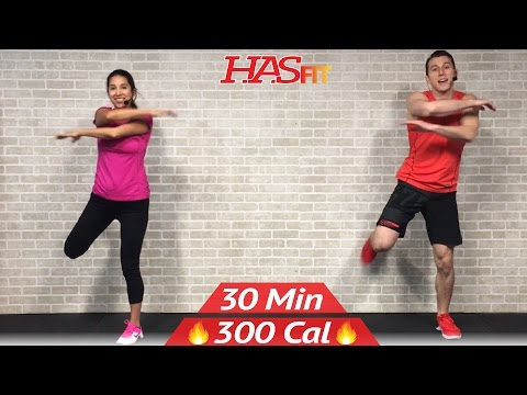 30 Min Low Impact Cardio Workout for Beginners – HIIT Beginner Workout Routine at Home for Women Men