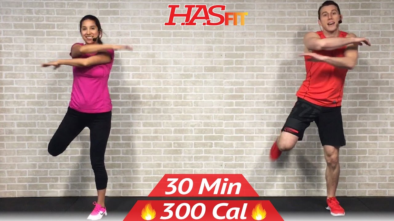 30 Min Low Impact Cardio Workout for Beginners - HIIT Beginner Workout Routine at Home for Women Men