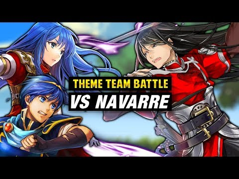 INFERNAL Navarre GHB with FE Mystery of the Emblem Units -  Fire Emblem Heroes [Theme Team Battle]