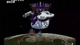 PC Engine Soldier Blade Stage7  ソルジャーブレイド