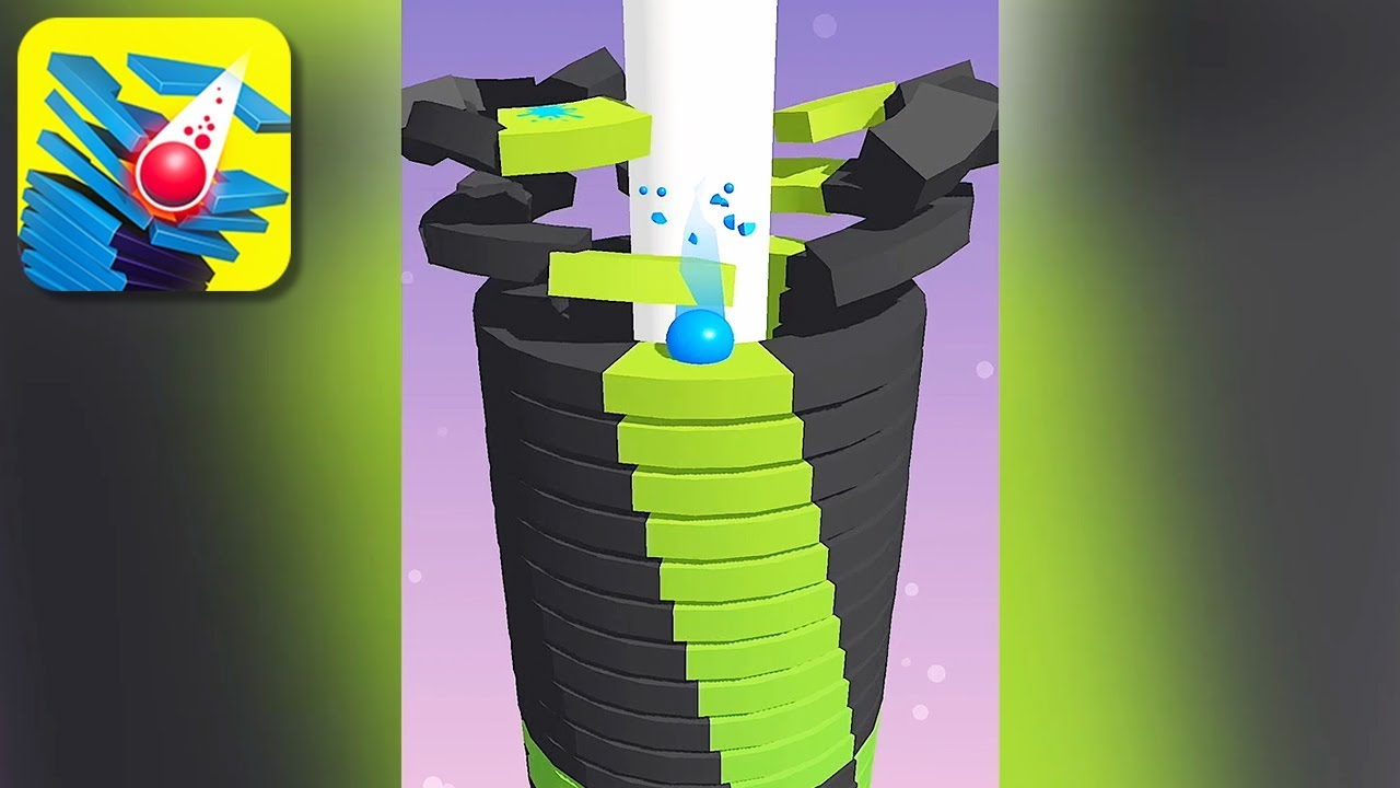 Stack Ball 3D – Gameplay Trailer (iOS)