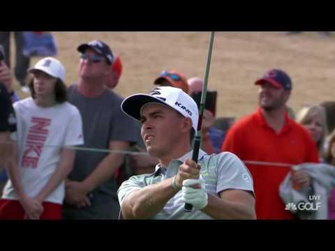 2017 Phoenix Open-Rickie Fowler Golf Shots