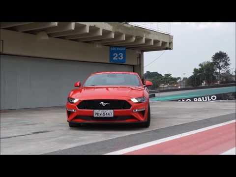 Mustang GT Premium 2018 5.0 V8: aceleramos o monstro americano em Interlagos/ Vrum Brasília