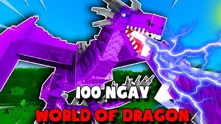 T Gaming Tóm Tắt 100 Ngày Sinh Tồn Minecraft Thế Giới Rồng Siêu Khó !!