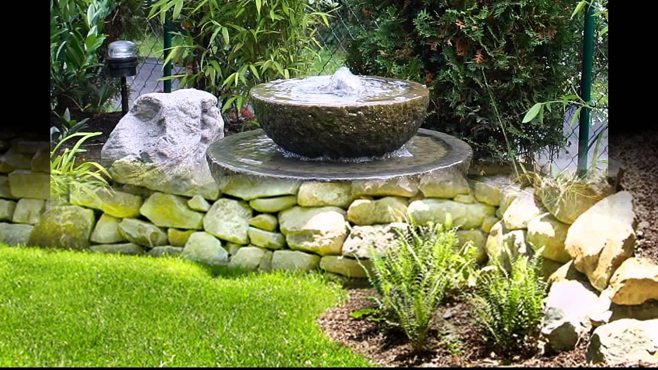Garden Ideas stone garden ideas - YouTube on Backyard Pebble Ideas id=57223