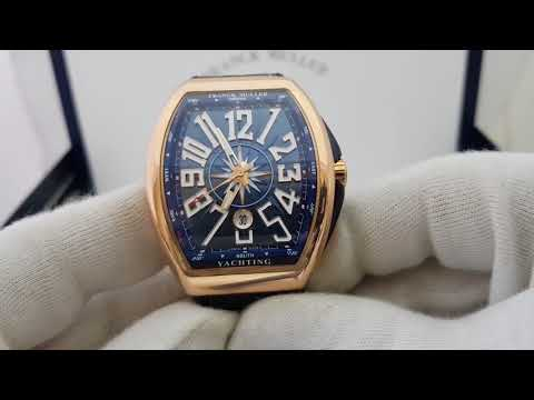 Обзор часов Franck Muller Vanguard Yachting Automatic розовое золото, оригинал!