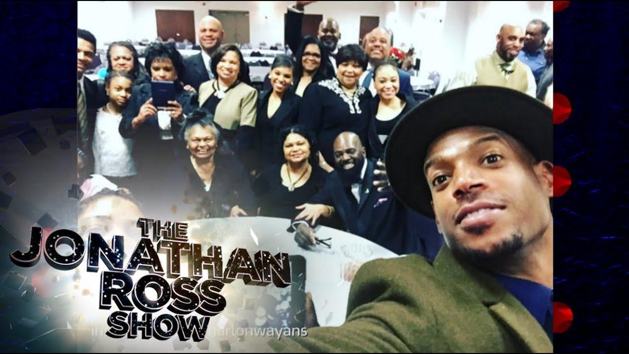 Marlon Wayan's Funny Family Funerals - The Jonathan Ross ...