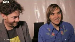 Interview with Arcade Fire's Will and Jeremy - Part 2 of 2