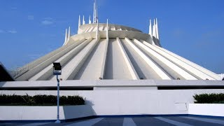 2017 Space Mountain RETURNS - Original Disneyland Classic ride (Extreme Low Light)