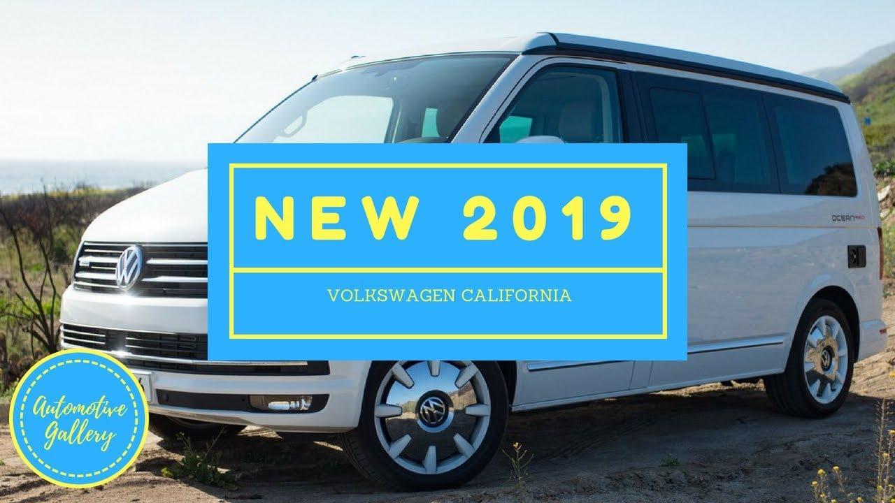 58928c23b3a87b HOT NEWS  2019 Volkswagen California - YouTube