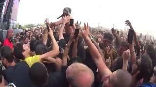 Lil Pump - D Rose 🔥  live in paris 21 / 07 / 2018 france (4k)