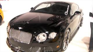 2009 Bentley Continental GT Coupe Review 22  Machined GFG Luxury Wheela Asanti DUBSandTIRES online
