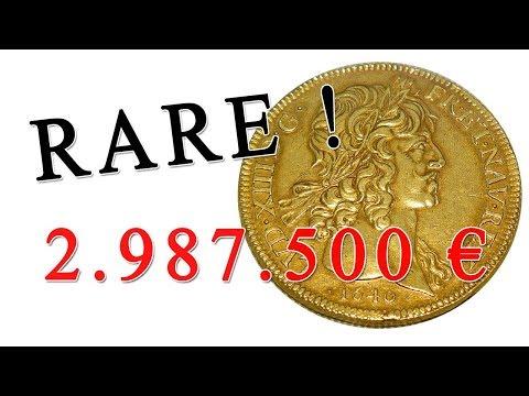 Quelle est la pièce d'or française la plus rare ?
