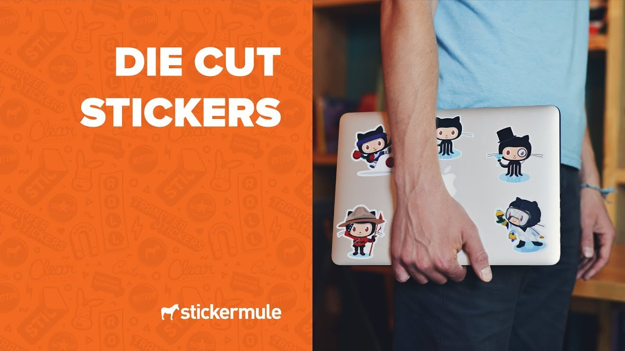 Die cut stickers how to order stickers with custom shapes