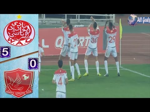 WYDAD VS HOROYA AC 5-0 All Goals & CAF Champions League 13/04/2019