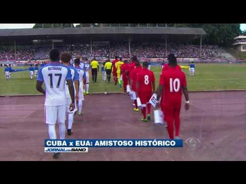 Seleção americana volta a disputar amistoso em Cuba depois de 69 anos