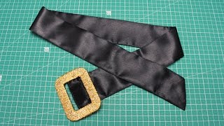 Download Video How to make a costume fabric belt - diy sewing project - #40 MP3 3GP MP4