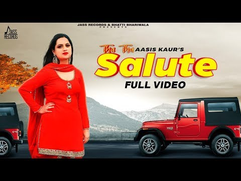 Tha Tha Salute | (Full HD) | Aasis Kaur | New Punjabi Songs 2020 | Jass Records