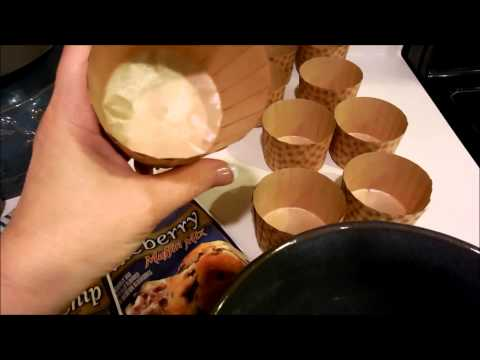 Homemade Muffins: Paper Baking Cups show off Homemade Muffins