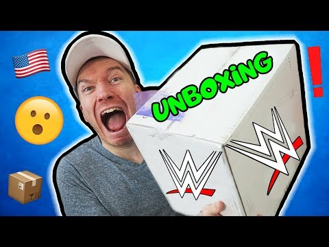 MUST SEE: HUGE WWE UNBOXING!!