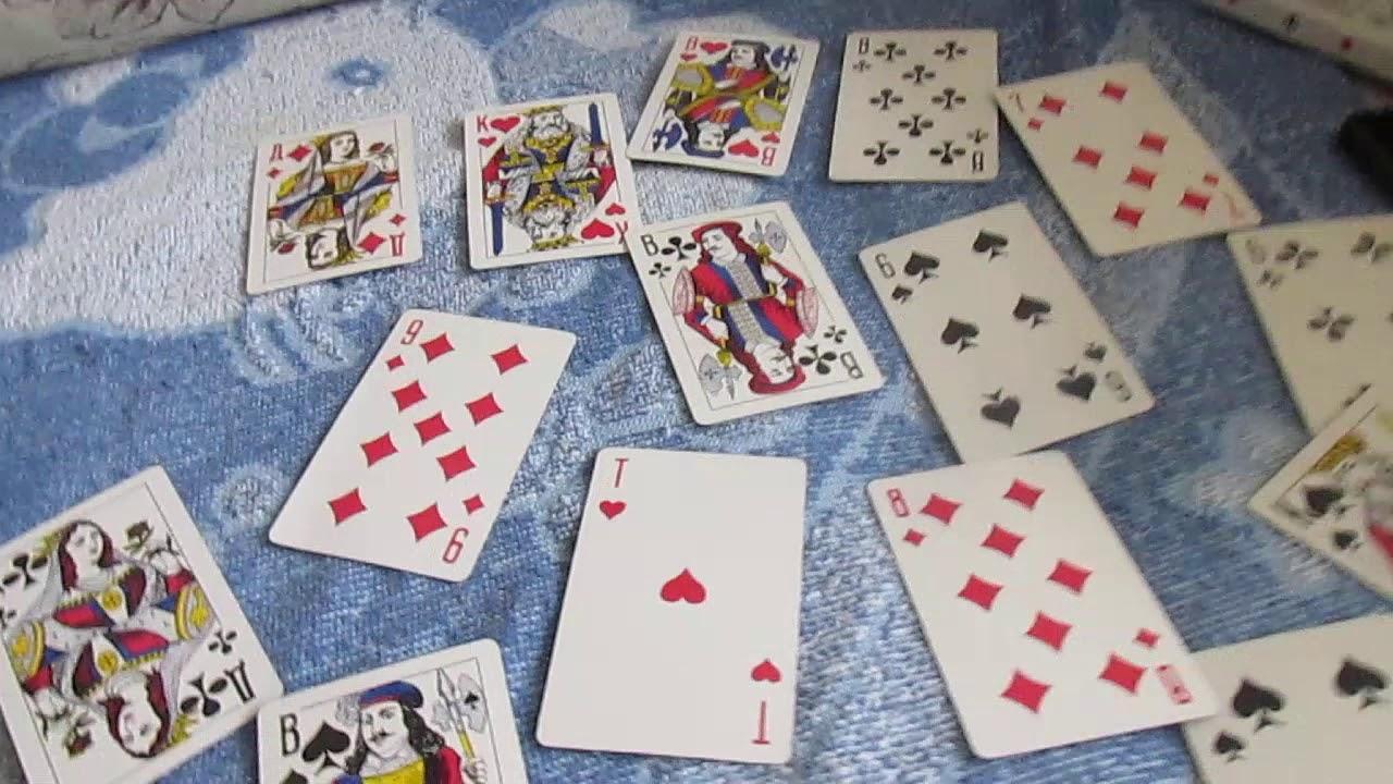 как играть в пьяницу в карты 36 карт втроем