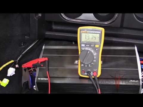 Tuning your ReCurve EZQ Sound Processor & Javelin Amplifier  NON JBL Toyota Tundra.