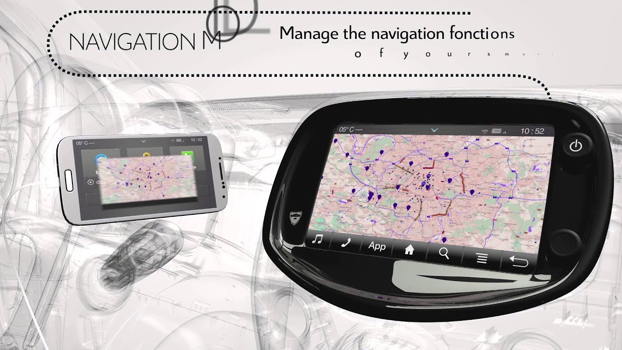 Be connected with the New Citroën C1 Mirror Screen Technology