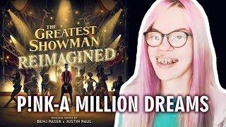 P!NK - A MILLION DREAMS (REACTION) | Sisley Reacts Video