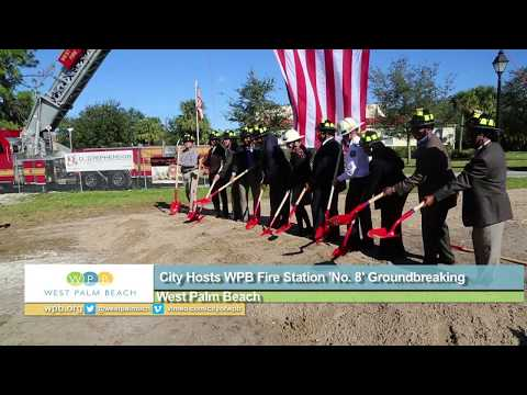 Groundbreaking for WPB Fire Rescue Station No. 8