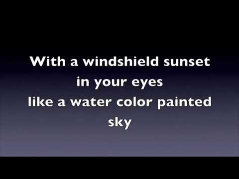 Jason Aldean - Fly Over States (karaoke)