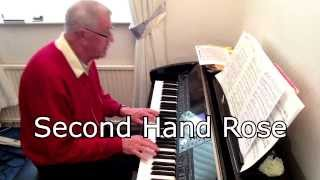 Second Hand Rose - Barbra Streisand - Piano Solo