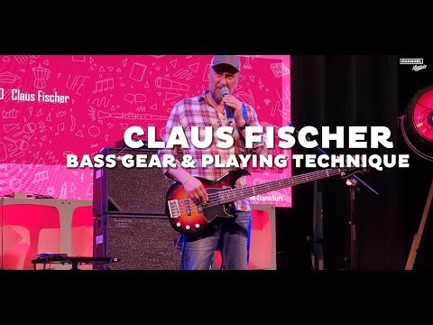CLAUS FISCHER Talking About His GEAR & PLAYING TECHNIQUE (2019)