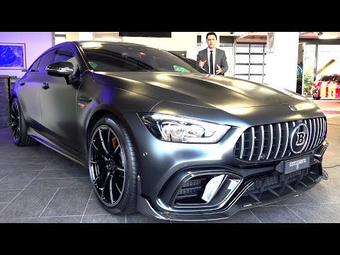 2021 Mercedes AMG GT 63 S  BRABUS 800 | FULL Review 4 Door Coupe + Sound Exhaust Interior Exterior
