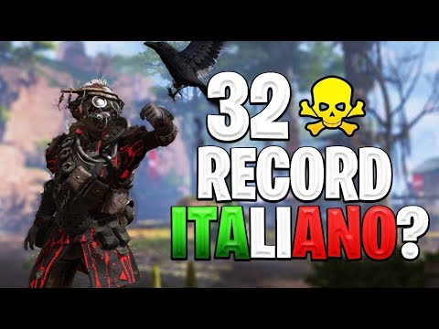 32 KILL DI SQUADRA CON HAL E STERMY! RECORD ITALIANO?!?! | APEX LEGENDS