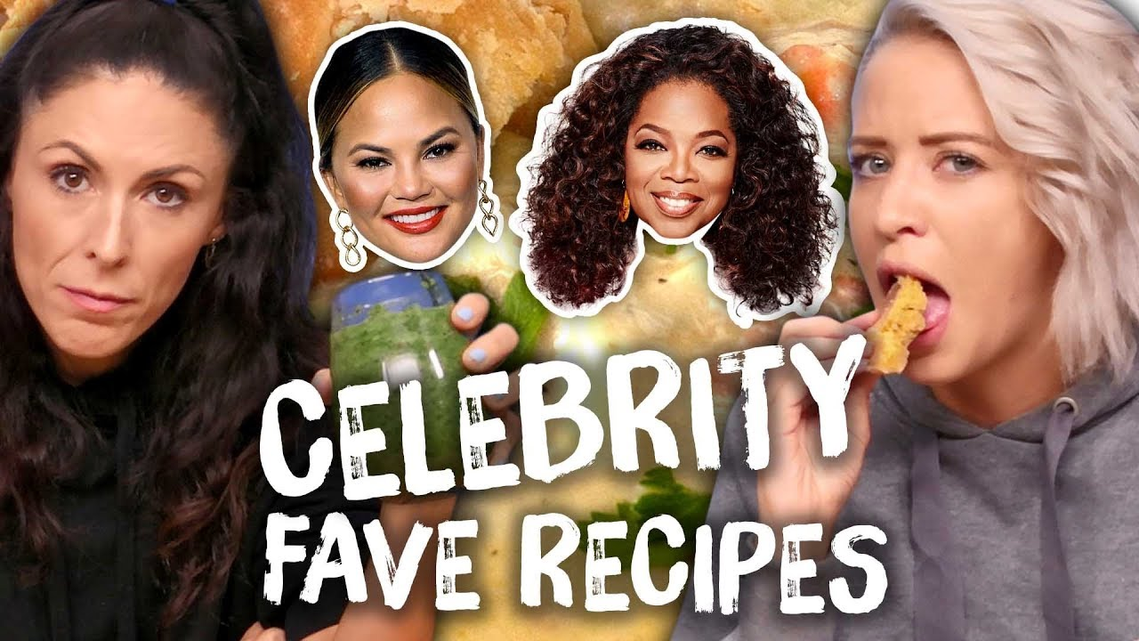 Trying the Best Celebrity Recipes - Taylor Swift, Chrissy Teigen, Oprah