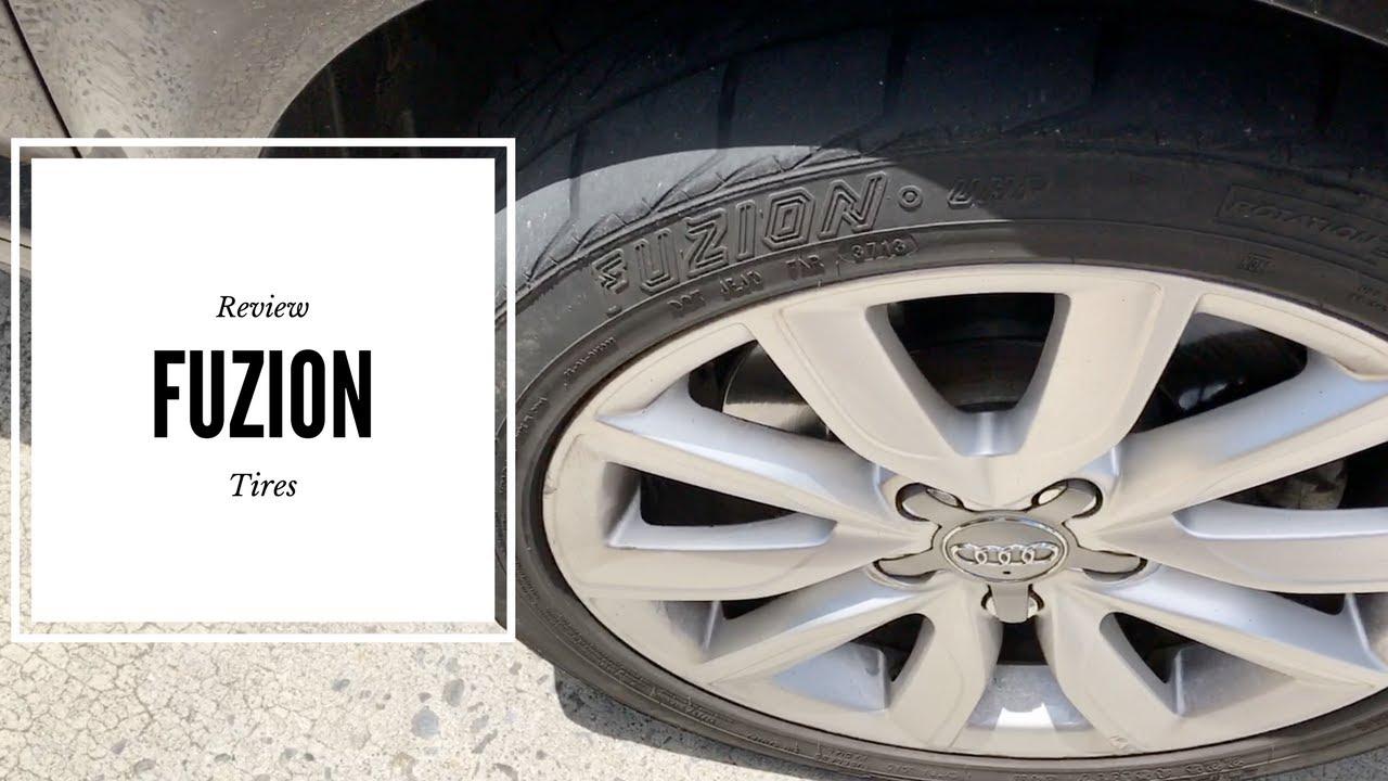 Goodyear Vs Fuzion Tires Youtube