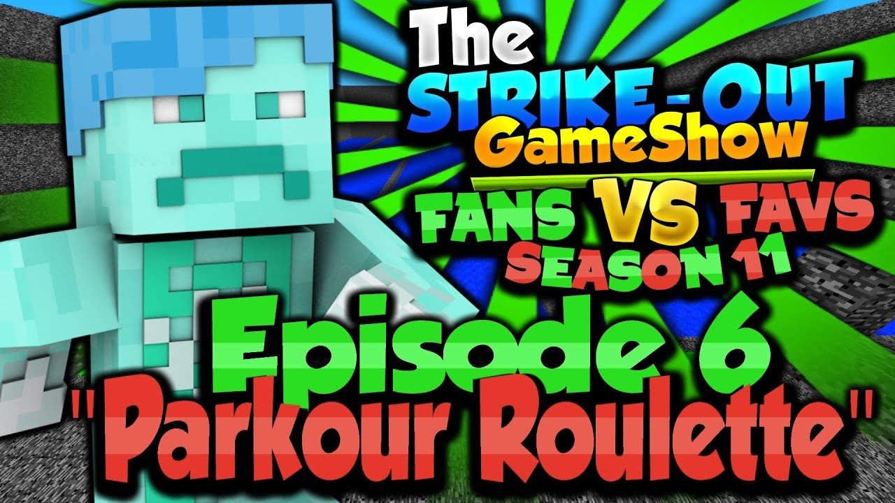 """Download """"PARKOUR ROULETTE"""" - The Strike-Out Game Show Season 11 Episode 6"""