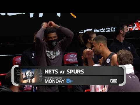 Kyrie Irving Hit The Shmoney Dance On Nets Broadcast