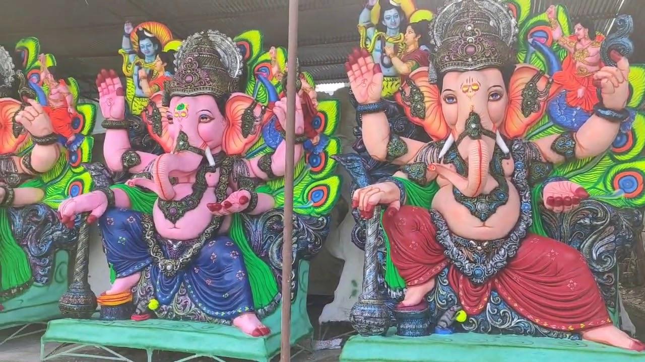 Korutla Ganesh Idols 2020   Gangadhar Kala Arts Workshop 7997180057   Best Subject Giver