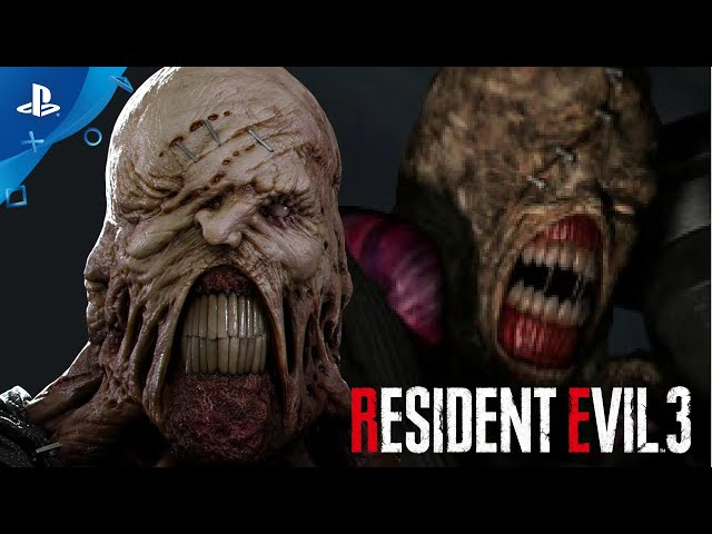 Resident Evil 3 - 1999 vs. 2020 Gameplay Comparison   PlayStation Underground