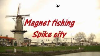 Magnet fishing 45  (magneetvissen) Rotterdam