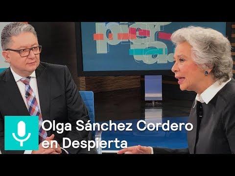 Olga Sánchez Cordero, próxima secretaria de Gobernación, en 'Despierta' - Despierta con Loret