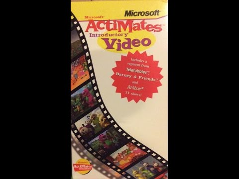 Microsoft ActiMates Introductory Video (1999 Version)